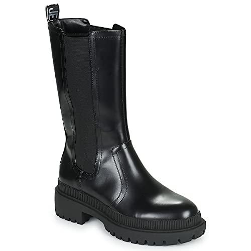 Pepe Jeans BETTLE City, Bota Moderna Mujer, 999 Negro, 37 EU