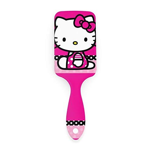 hello kitty cepillo de pelo cuero cabelludo masaje antiestático cojín de aire peine cepillo desenredante de cabello para hombres mujeres niños