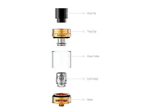 Smok H-Priv 220W Pro Kit inkl. TFV8 Big Baby Beast Farbe Gold/Rot - ohne Nikotin
