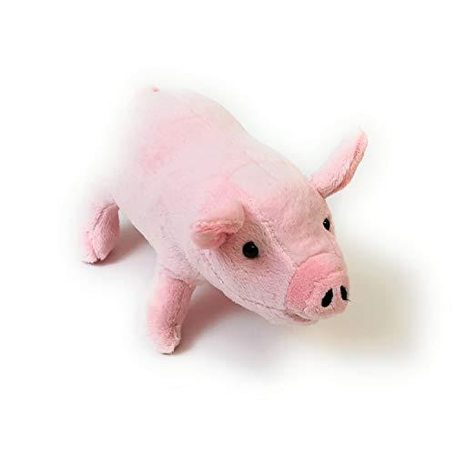 Beppe Cerdito de peluche rosa para abrazar, regalo de animales, regalo de cumpleaños, cama infantil, peluche, juguete, idea de regalo