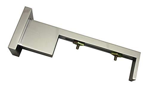 Gardinia Multiträger für Luxor rechteckig chrom 14,5 cm, 14.5 cm