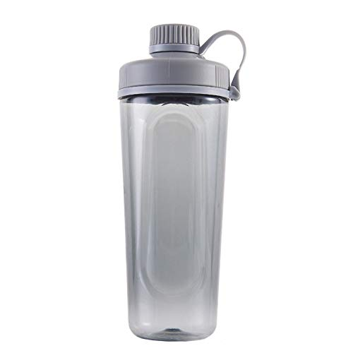 Sports Protein Shake Cup Fitness Cup mit Rührkugel BPA-Frei Sports Auslaufsicher Wasserkocher Wasserkocher 700ml / 24oz für Fitness und Reisen