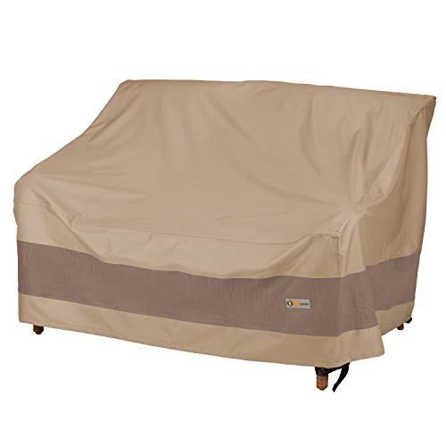 "Duck Covers Elegant Water-Resistant 52"" Inch Patio Loveseat Cover"