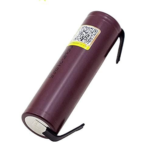 Nueva batería HG2 18650 3000mAh 18650HG2 3.6V Descarga 20A, batería hg2 dedicada + níquel DIY (18mm*66mm, 10PCS)