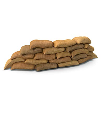 SANDBAGS SANDBAG Flood Sacks Hessian Protection Flooding (5)