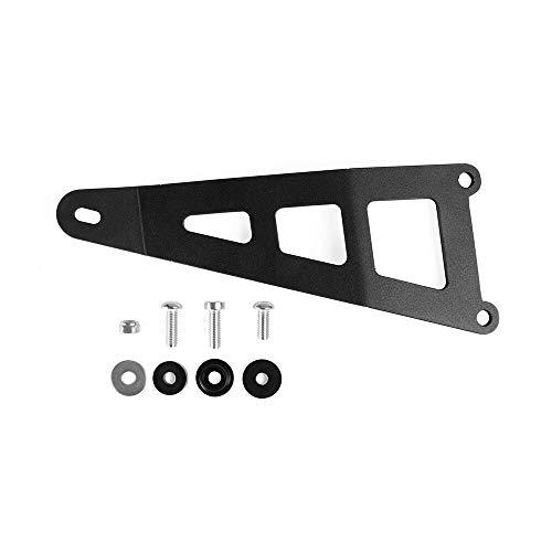 JIANXING Durable con Estilo para Nuevo Soporte de suspensión de Escape con Accesorios de Motocicleta Negros de Tornillo para Ap.RI.LA RS 125 RS125 Fácil de Instalar (Color : Black)