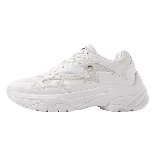 British Knights Galaxy, Sneakers Basses Femme, Blanc (White/White 04), 41 EU
