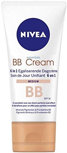 Nivea Essentials BB Cream SPF 10 Medium, 50 ml