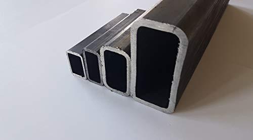 Rechteckrohr Stahlrohr Vierkantrohr - E235-60x30x3mm - EN 10305-5 L= 500-2000mm (1000mm)
