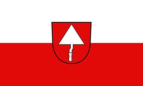 Unbekannt magFlags Tisch-Fahne/Tisch-Flagge: Ratshausen 15x25cm inkl. Tisch-Ständer