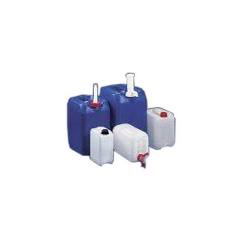 Kautex 2000080289 Industrie-Kanister, HDPE, UN, Verschluss, Gewinde Durchmesser 45 mm, Natur, 8 L (10-er Pack)