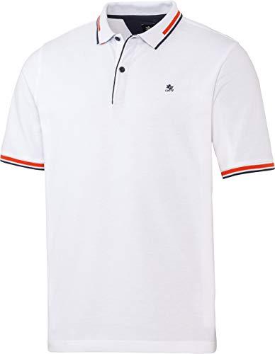 OTTO KERN Herren Polo mit sportivem Kragen, knalliges Poloshirt aus 100% Baumwolle, für Freizeit und Business, Oberbekleidung für Männer, Gr. 48-60