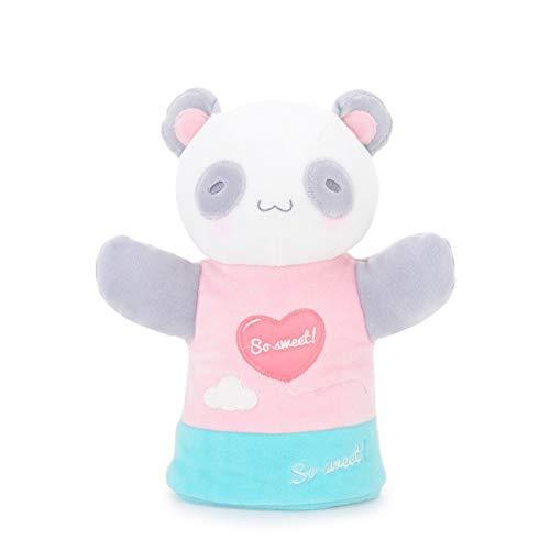 YUNCHENG Baby Geschenk Spielzeug Gefüllte Spielzeug für Kinder Plüschtiere Schöne Kaninchen Panda Lion Kind Hand Puppe Handschuh Puppe Beschwerden Puppe Erzählen Sie eine Geschichte Mädchen Spielzeug