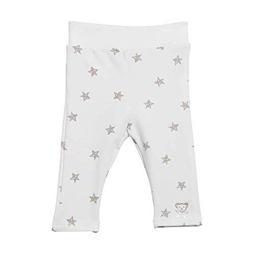 Steiff Jogginghose Pantalon De Sport, Blanc (Bright White 1000), 86 Bébé Fille