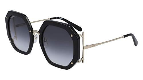 FERRAGAMO SF 940 S 001 - Gafas de sol, color negro