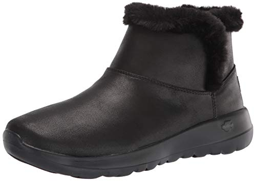 Skechers Women's Chukka Boot, Black, 8