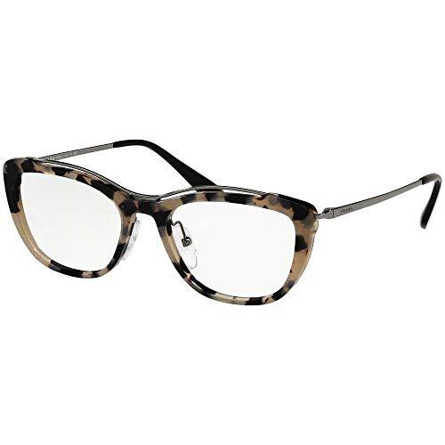PRADA Damen 0PR 04VV Brillengestelle, Braun (Grey Havana), 53
