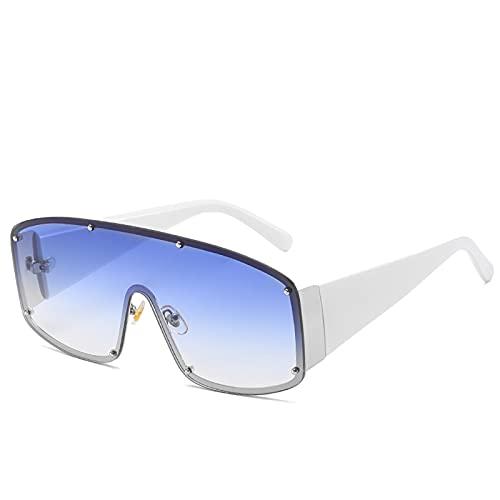 Gafas de sol polarizadas para hombre y mujer, para deportes al aire libre, pesca, ciclismo y correr, gafas de sol anti-ultravioleta, plata,