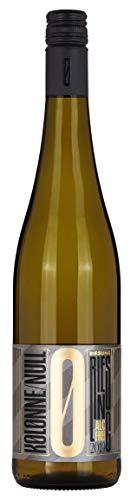KOLONNE NULL Alkoholfreier Wein – Weißwein Riesling Riesling trocken Alkoholfrei (1 x 0.75 l)