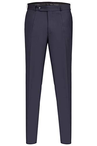 Hose in einfachem Slimline-Schnitt zu den Wilvorst Drop8 Anzügen Dante & Tizian, Blau Größe 110