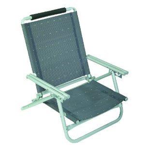 2 sillas de playa + correa de transporte. Stabielo aluminio Terra -aprox. resistente a 120 kilos...