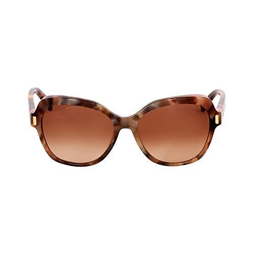 Calvin Klein 205W39nyc Ck8540S 260 56 Gafas de Sol, Beige Marble, Mujer