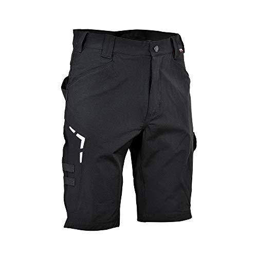 COFRA V593-0-05.Z56 BORTAN Shorts, Schwarz/Schwarz, Größe 56