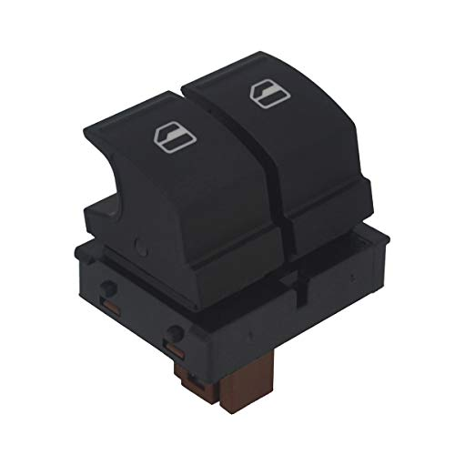 Elektrischer Fensterheberschalter für Skoda Octavia, KASturbo Auto Fensterheber Schalter für Fabia 2 Roomster 1Z0959858