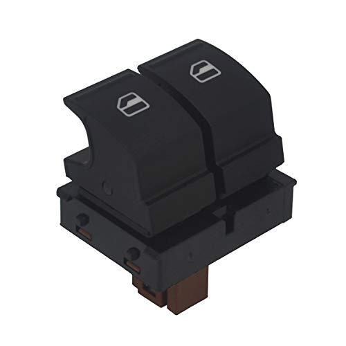 KASturbo Interruptor de Elevalunas, Botón de Ventana eléctrica de control eléctrico 1Z0959858 para S-koda Octavia Fabia 2 Roomster