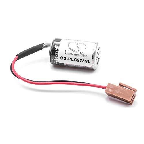 vhbw Li-MnO2 Batterie 1000mAh (3.6V) passend für Toyo Denki µGPCsH, µGPCsx