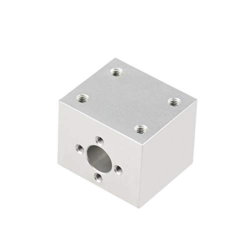 without 1pc T8 Trapezoidal Lead Screw Nut Housing Bracket For 3D Printer Parts Reprap CNC (not Include Screw)
