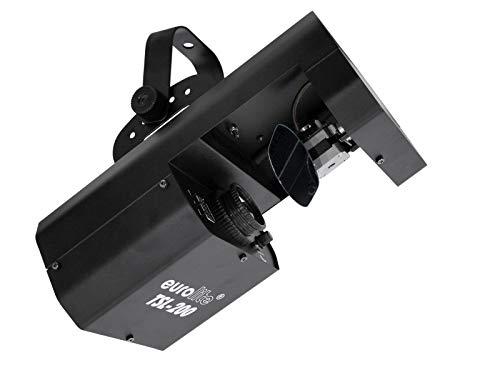 EUROLITE LED TSL-200 Scan COB | Scanner mit 20-W-COB-LED, rotierenden Gobos und Farbrad