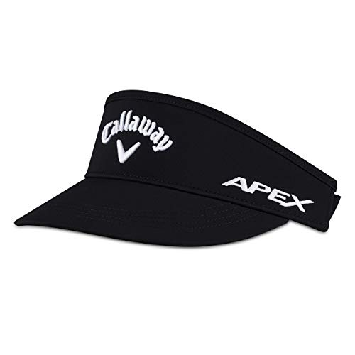 Callaway Golf 2019 Tour Authentic High Profile Visor, Black