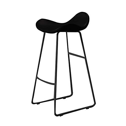 Taburetes de bar, taburetes de bar, taburetes altos nórdicos modernos minimalistas de hierro forjado para el hogar, adecuados para tomar fotos taburetes de bar en la recepción en tiendas de ropa