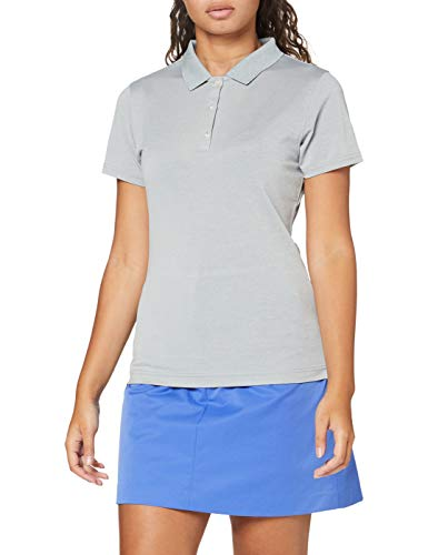 Footjoy Stretch Pique Solid Lady 2020 Polo, Mujer, Gris, XS