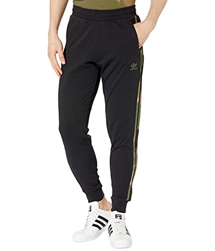 Adidas Originals Camo - Pantalones de chándal para hombre - Negro - Small