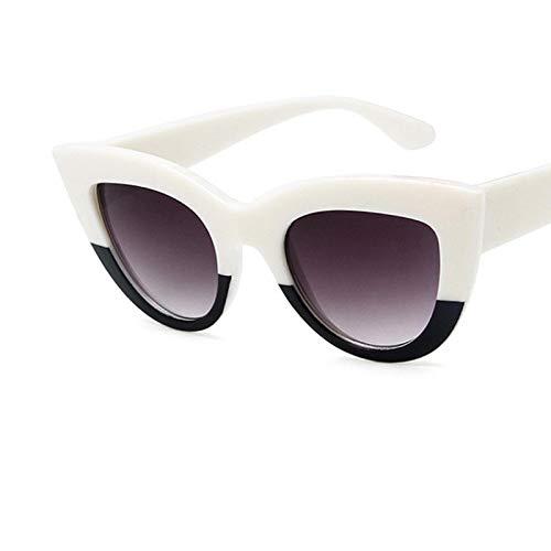 Sunglasses Gafas de Sol Gafas De Sol con Forma De Ojo De Gato para Mujer, De Diseñador, Vintage, para Muj
