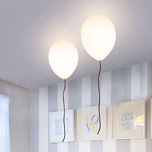 LITFAD Balloon Dallas Mall Flush Mount Ceiling Stylish Milky NEW before selling ☆ Light Fixtures