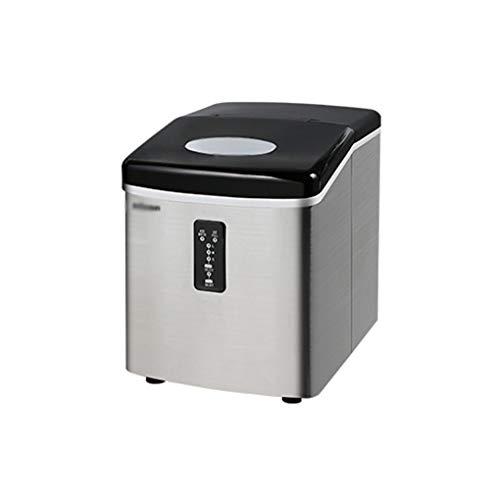 QINGZHUO Machine à Glaçons Kealive, Machine a Glace Acier Inoxydable avec 3.2L Réservoir, 9 Glaçons par 6-10 Min, Produire 18kg...