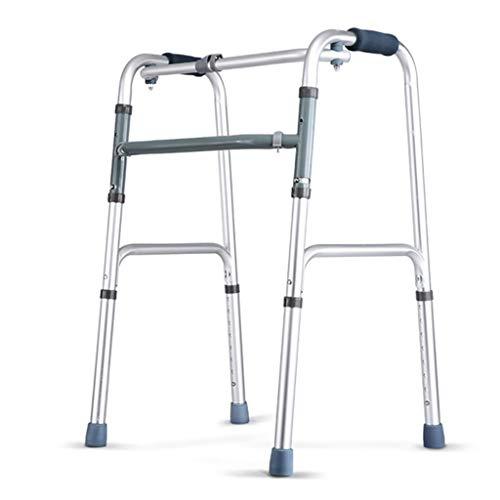 Senioren Walker, invalide Viervoetige kruk Old Man Walker Armsteun Beugel Ouderen Lopende fractuur Lopende wandelaars voor ouderen
