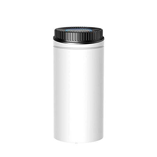 Qin Dehumidifier,4000ml Deshumidificador Quiet Room Dehumidifier,Air Purifier,Quick Drying,Suitable for Indoor Car Basement Bathroom Bedroom Wine Cellar Use,Daily Dehumidification Capacity 20L