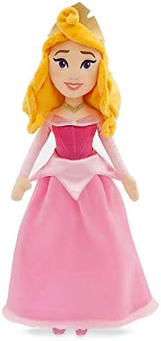 Official Disney Sleeping Beauty Aurora Pink Soft Plush Toy Doll 43cm product image