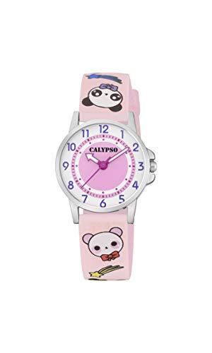 Calypso Watches Reloj Analógico para Unisex Niños de Cuarzo con Correa en Plástico K5775/4