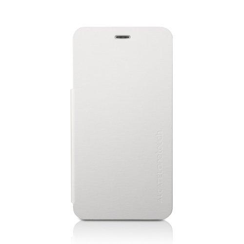 muvit FC6010W Etui Schutzhülle mit Display-Flappe für Alcatel One Touch Star