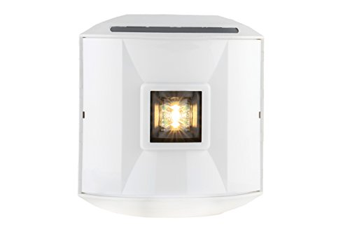 Aqua Signal 44501-7 Series 44 LED Navigation Light - Stern (White) with White Housing