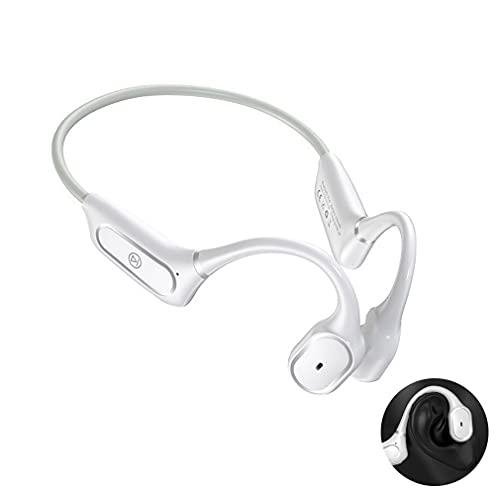 AQUYY Auriculares Deportivos Inalambricos Bluetooth 5.0, IP55 Impermeable Ligero Cascos de Conducción...