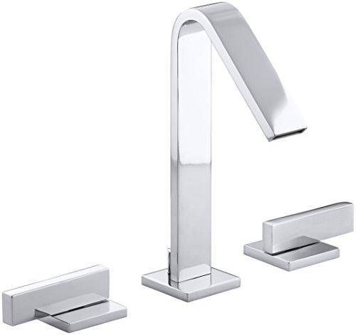Kohler K-14661-4-CP Loure Bathroom Sink Faucet, One Size, Polished Chrome