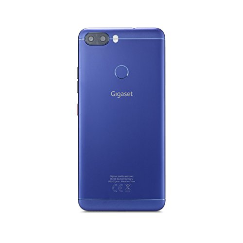 Gigaset GS370 plus Smartphone (14,4 cm (5,7 Zoll) Touch-Display, 64 GB Speicher, Android 7.0) | Blau