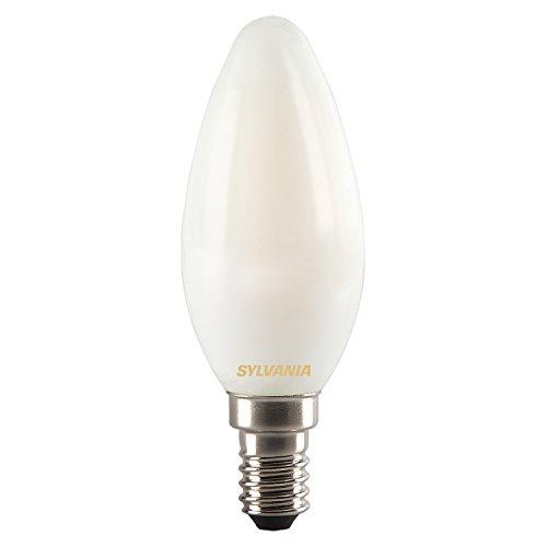 Sylvania 0027287 Toledo LED-kaars in retro-stijl, lamp, E14, 4 Watt