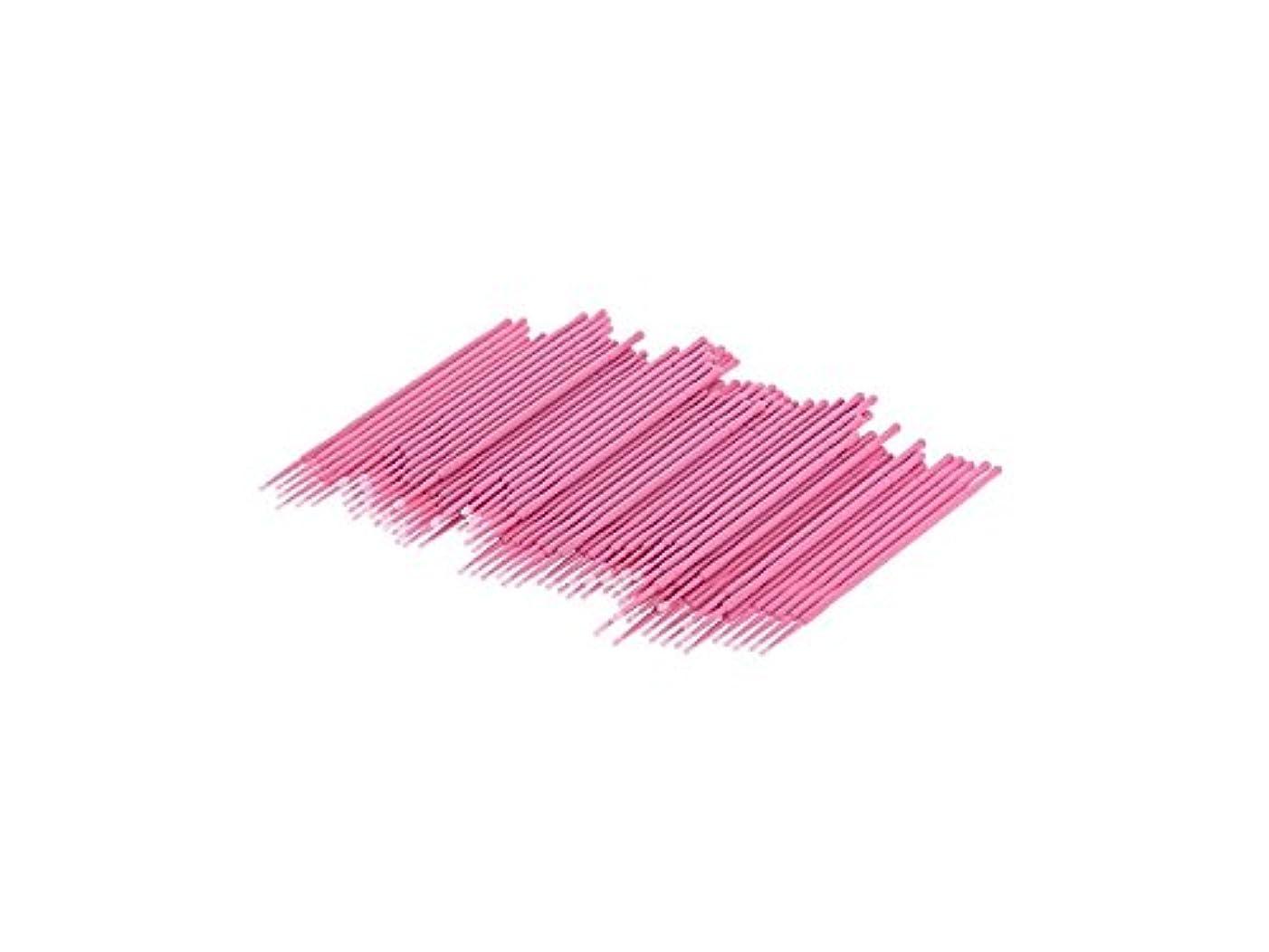 フレット履歴書バーターOside 約入れ墨のメイクアップ耳のスワブのための100個の綿綿棒使い捨てプラスチックハンドル